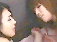 Japanese Lesbians Wearing Pantyhose