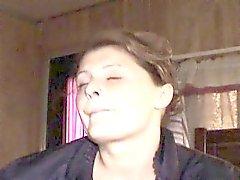 Old fag hag Roxie likes smoking crack