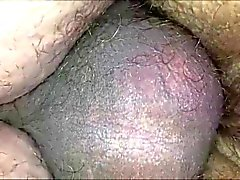 Super Closeup - Hairy Pussy and Anus Fucked