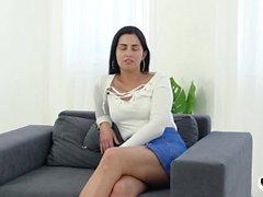 HER LIMIT - Hard anal for Hungarian brunette Loren Minardi
