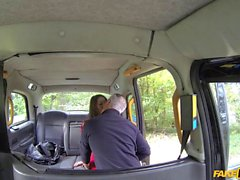Lovely passenger railed by London driver