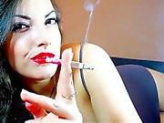Smoking Fetish Alexxxya
