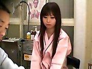 Amateur nippon bitch spied by a spycam