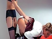 Neverending strap-on girl4girl action