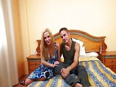 Amateur-swingers couple