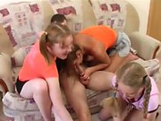 3 Teen Sisters Fuck Their Cousin - Watch Part2 on SLUT9,COM