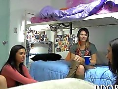 College chicks take truth or dare game too far