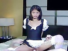 Suzanne Filipino Cosplay Maid Get's Consented Hard Fuck