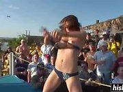 Amateur sluts show off their bodies