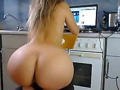 Big fat round ass butt PAWG