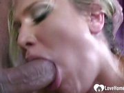 Cock-hungry blonde finally gets what she wants