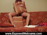 Tais's Dorm Room Strip Show
