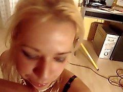 Serbian blonde girl casting (Andrea Kanjiza)