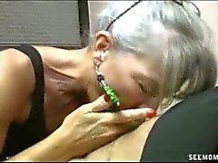 Cum starving granny sucking horny grandpa dry