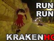 Krakenhot - Homemade video of a wife doing a handjob