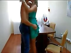 Amateur couple office fuck
