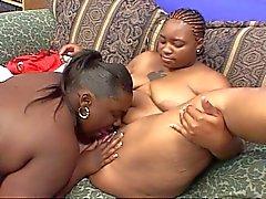 Perverted fat ebony lesbian whores