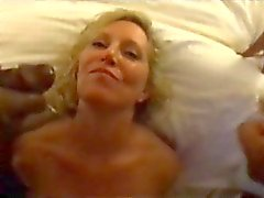 Hot wife Cassandra Deep DPed and swallows cum