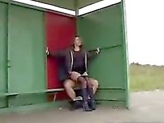 From cheat-meet - Sex at the bus stop