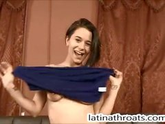 Latina Throats Mae White throat fucked and degraded