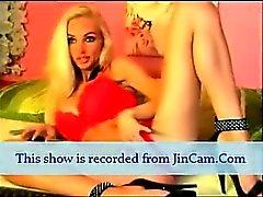 long leg mature blonde camgirl live masturbates show