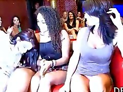 Group wild sex party at the club