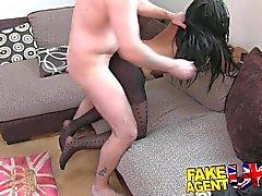 Kinky Ebony beauty shakes booty for sex