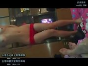 asian Chinese lover dancing at home in china