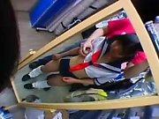 Busty teen amateur hoe in uniform