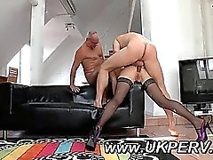 Hard UK anal and double penetration