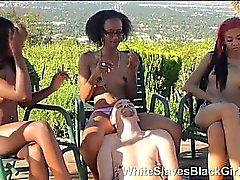 white guy humiliated by ebony femdom