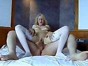 Claudia blonde german cuckold