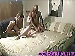 Amateur white cuck wife ass deep busted by BBC 1