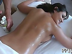Charming massage and fucking