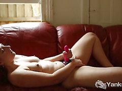 Yanks Pandora Blake Plays With Her Strapon
