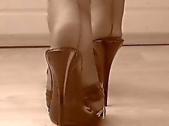 vintage nylon feet n' toes