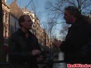 Dutch hooker creampied by tourist in Adam