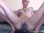 Yummy Little-Boobed Camgirl Makes Her Pussy Wet