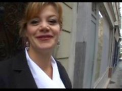 Marylin a beautiful french mature analfucked in stockings