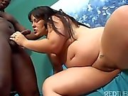 brazilian girl get fucked with a black cock