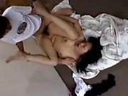 Asian milfs small cock spitroasting