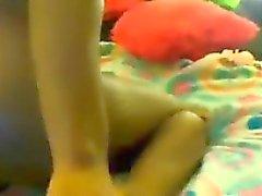 Ebony Teen Girl With A Toy