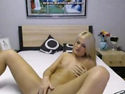 Solo Blonde Playing With Her Pussy Toys Xisty