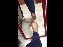 SPANISH CHICK FEET (In High Heels) #2