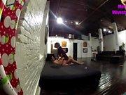 Wife sharing bf on hidden cam