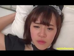 Jav Amateur Teen Erokawa Fucked In Maids Outfit Uncensored Scene She Gets F