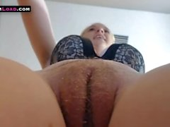 Big tits blonde with fat pussy orgasm on cam