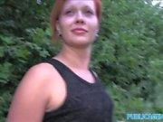 PublicAgent Outdoor sex wit fit czech barmaid