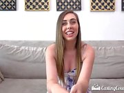 CastingCouch X First time fuck with casting agent for newcomer Lexi Lovell