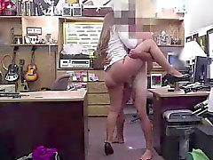 Amateur MILF getting fucked for cash on spycam